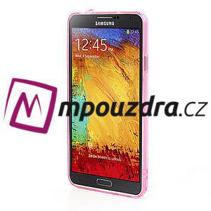 Gélové hybrid puzdro na Samsung Galaxy Note 3- růžové - 4
