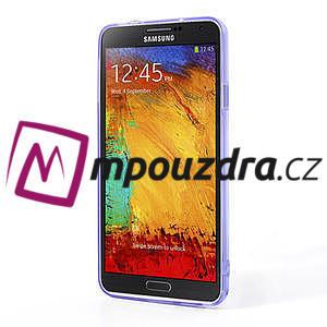 Gélové hybrid puzdro na Samsung Galaxy Note 3- fialové - 4