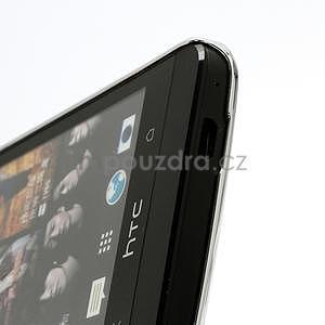 Drahokamové puzdro pre HTC one M7- biele - 4