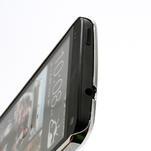 Drahokamové puzdro pre HTC one M7- modré - 4/6