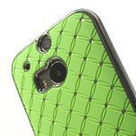 Drahokamové puzdro pre HTC one M8- zelené - 4/6
