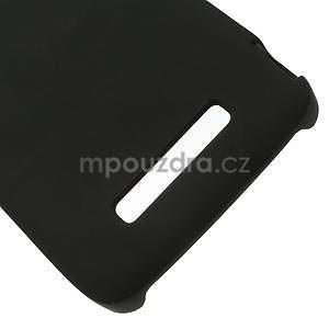 Hard Case puzdro na Alcatel One Idol Alpha 6032 A - čierné - 4