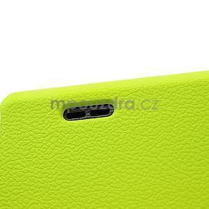Texturované puzdro pre LG Optimus L7 P700- zelené - 4