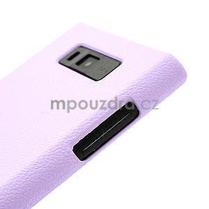 Texturované puzdro pre LG Optimus L7 P700- fialové - 4