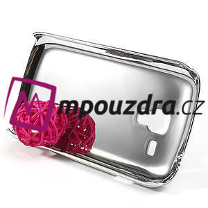 Drahokamové puzdro pre Samsung Trend plus, S duos- fialové - 4