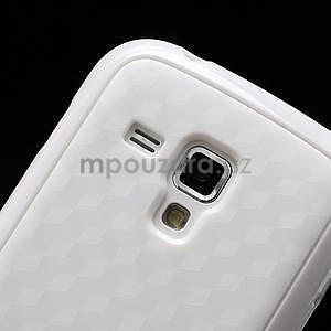 Plastogélové puzdro pre Samsung Galaxy Trend, Duos- biele - 4
