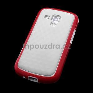 Plastogélové puzdro na Samsung Galaxy Trend, Duos- červené - 4