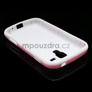 Plastogélové puzdro pre Samsung Galaxy Trend, Duos- ružové - 4