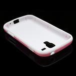 Plastogélové puzdro pre Samsung Galaxy Trend, Duos- ružové - 4/5