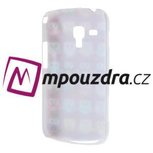 Plastové puzdro pre Samsung Trend plus, S duos - multi sovičky - 4