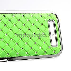 Drahokamové puzdro pre HTC One SV- zelené - 4