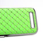 Drahokamové puzdro pre HTC One SV- zelené - 4/5