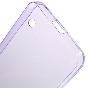 Ultratenký gélový obal na mobil Microsoft Lumia 550 - fialový - 4