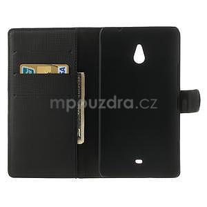 Peňaženkové puzdro pre Nokia Lumia 1320- čierné - 4