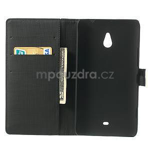 Peňaženkové puzdro pre Nokia Lumia 1320- biele - 4