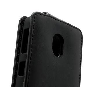 Flipové puzdro na Nokia Lumia 620- čierné - 4