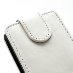 Flipové puzdro na Nokia Lumia 620- biele - 4/5