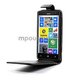 Flipové puzdro pre Nokia Lumia 625- čierné - 4