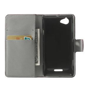 Peňaženkové puzdro na Sony Xperia L C2105 - meteor - 4