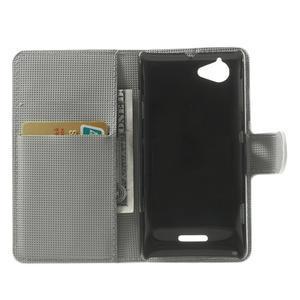 Peňaženkové puzdro na Sony Xperia L C2105 - zebrovité - 4