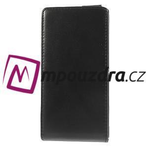 Flipové puzdro na Sony Xperia M2 D2302 - čierné - 4