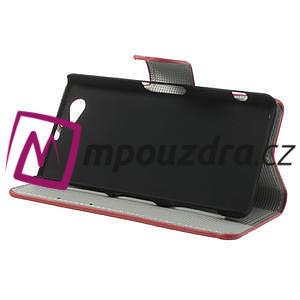 Peňaženkové puzdro pre Sony Xperia Z1 Compact D5503 - USA vlajka - 4