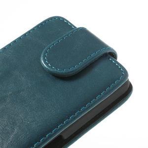 Flipové puzdro na Sony Xperia Z1 Compact D5503- modré - 4