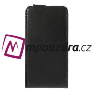 Flipové Cover kožené puzdro na HTC Desire 310- čierné - 4