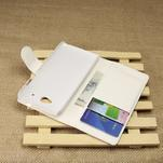 Peňaženkové puzdro pre HTC Desire 601- biele - 4/7