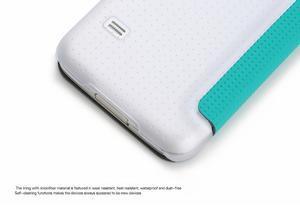 Flipové puzdro na Samsung Galaxy S5 mini G-800- modré - 4