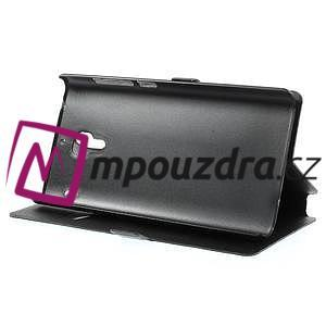 Peňaženkové  puzdro na Xiaomi Hongmi Red Rice- čierné - 4