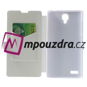Peňaženkové puzdro na Xiaomi Hongmi Note- biele - 4