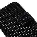 Čierné puzdro pre Samsung Galaxy S3 mini / i8190 - kamínkové - 4/5