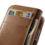 Zlaté puzdro pre Samsung Galaxy S3 mini / i8190 - kamínkové - 4/4