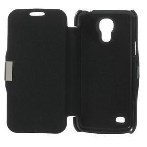 Flipové folio puzdro na Samsung Galaxy S4 mini i9190- čierné - 4