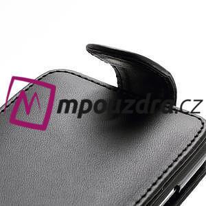 Flipové pouzdro pro Samsung Galaxy S4 i9500- černé - 4