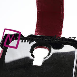 Flipové pouzdro pro Samsung Galaxy S4 i9500- růžové - 4