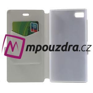 Peňaženkové puzdro na Xiaomi Mi3- biele - 4