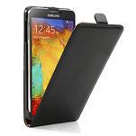 Flipové kožené puzdro pre Samsung Galaxy Note 3- čierné - 4/7