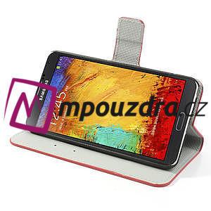 Peňaženkové  puzdro na Samsung  Galaxy Note 3- UK vlajka - 4