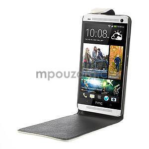 Flipové puzdro HTC one Max- biele - 4