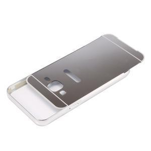 Odolný obal s kovovým obvodem na Samsung Galaxy J5 (2016) - stříbrný - 4