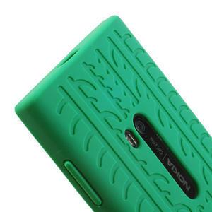 Silokonové PNEU puzdro na Nokia Lumia 920- zelené - 4
