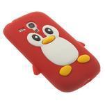 Silikonový TUČŃÁK puzdro na Samsung Galaxy S3 mini i8190- červený - 4/7