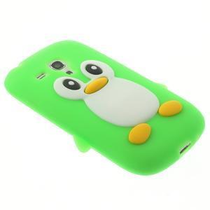 Silikonový TUČŃÁK puzdro na Samsung Galaxy S3 mini i8190- zelený - 4