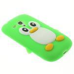 Silikonový TUČŃÁK puzdro na Samsung Galaxy S3 mini i8190- zelený - 4/7