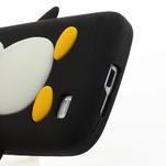 Silikon 3D TUČŇÁK pro Samsung Galaxy S4 mini i9190- čierný - 4/5