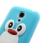 Silikon 3D TUČŇÁK pro Samsung Galaxy S4 mini i9190- svetlomodrý - 4/6