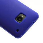 Silikonové puzdro pre HTC one M7- modré - 4/6