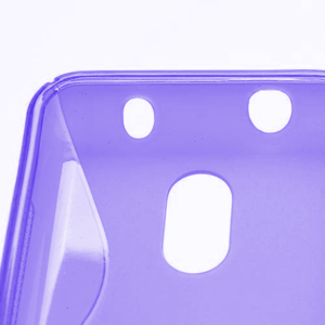 Gélové S-line puzdro na Nokia Lumia 620- fialové - 4